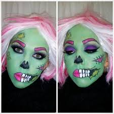 Pop Art Halloween Costume 50 Pop Art Zombie Images Zombie Makeup
