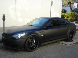 custom black bmw black on black on black matte rb custom cars