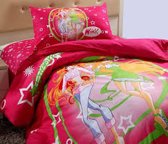 Duvet Club Princess Duvet Cover Winx Club Cartoon Pattern Single Children U0027s