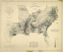 1860 Election Map by Mapping Slavery In The United States In 1860 Musings On Maps