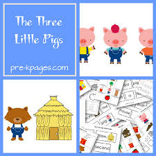 pigs kindergarten fairy activities