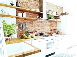 brick kitchen ideas exposed brick wall in kitchen exposed brick kitchen best brick wall