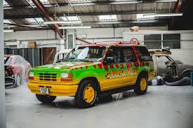jurassic park car movie kustom kolors jurassic park promo vehicle custom paint and