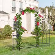wedding arch garden garden arches