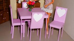 How To Make Doll Kitchen How To Make A Chair For Doll Monster High Eah Barbie Etc