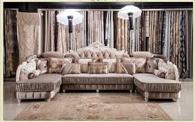 High Quality Sectional Sofas Popular European Style Living Room Furniture Sectional Sofa Set In