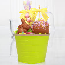 easter basket delivery caramel apple easter basket easter basket delivery