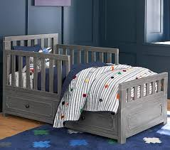 Converting Crib To Toddler Bed Weston Toddler Bed Conversion Kit Pottery Barn