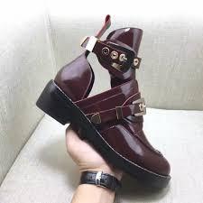 classic biker boots online get cheap classic buckle metal ankle boots aliexpress com