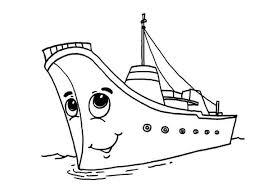 water transportation boat ship sailboat submarine coloring