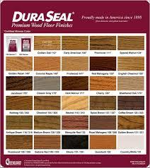 duraseal stain chart hardwood flooring jersey