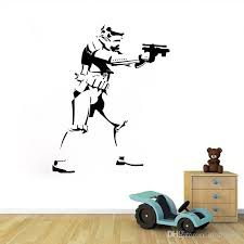 Home Decor Decals 46 58cm Star Wars Wall Decals Removable Pvc Wall Stickers For Kids