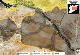 Raqqa Syria Map by Battle Map Of Central Syria After Saa Troops Liberate Al Kom