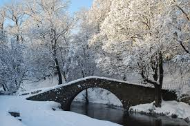 Snow Scotland Snowy Bridge And Cold Water In Scotland Snow In Scotland