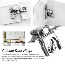 1 5 10x door hinge cabinet cupboard hinges soft close overlay
