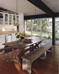 Picnic Table Dining Room Who Says You Can U0027t Fit A Dining Room Table Into An Apartment