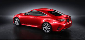 2015 lexus rc debuts at sport coupe cars street car