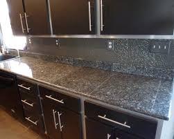 kitchen cute black tile kitchen countertops simple design for