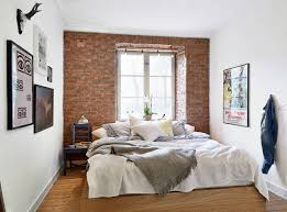 my type of style beautiful brick accent wall minimal space but