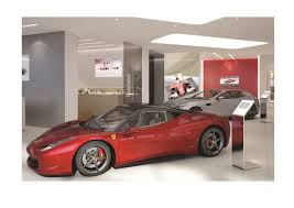 ferrari dealership showroom new showroom