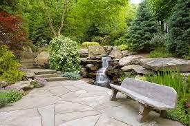 waterfall landscape design for garden components homyxl com