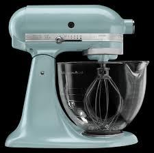 Kitchenaid Artisan 5 Qt Stand Mixer by Kitchenaid Mixer Artisan 5 Quart Glass Bowl Mixer Azure Blue