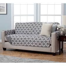 decor grey t cushion sofa slipcover with rug and side table for