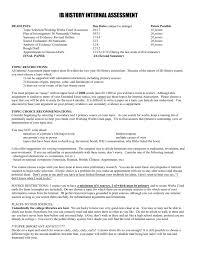 Ib Extended Essay Samples Ib Extended Essay Draft