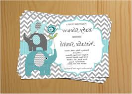 elephant baby shower invitations awesome baby shower invites etsy