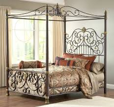 wrought iron bed frames vintage wrought iron bed frame with brass
