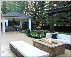 Rectangle Fire Pit - rectangle fire pit home design ideas