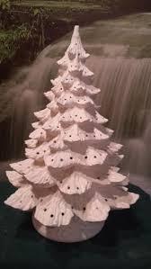 ceramic christmas tree light kit ready to paint ceramic bisque 21 christmas tree with light kit