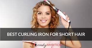 whats the best curling wands for short hair best curling iron for short hair in 2018 beauty ambition