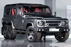 land rover defender concept the six wheeled land rover defender can be yours for 310 000