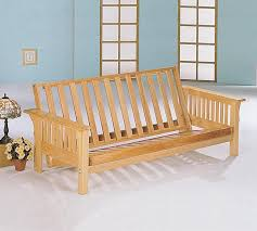 Futon Frame And Mattress Comparing Wooden Futon Frame Awesome Homes