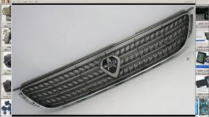 lexus is300 front grill emblem altezza chrome grill lexus is200 is300 3sge sxe10 youtube