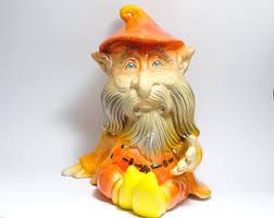 vintage garden gnome etsy
