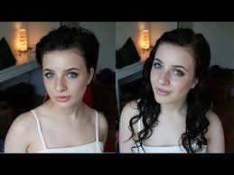 pixie to long hair extensions hair extensions for short hair the easy way youtube