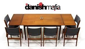 Mid Century Modern Round Dining Table Mid Century Danish Modern Teak Desk Dining Table Danish Mafia