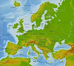 map of eastern european countries europe physical map freeworldmaps