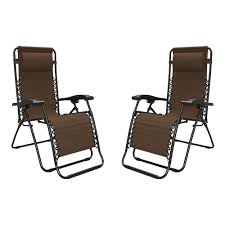 Zero Gravity Chair Oversized Infinity Zero Gravity Chair 2 Pack Brown Limited Color Edition