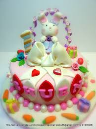 The Sensational Cakes Sweet Pink Bunny Cake Singapore 1st
