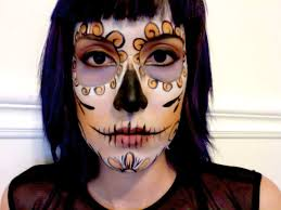 awesome mexican skull makeup