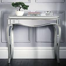 Venetian Mirrored Console Table Powell Furniture Mirrored Console Table Venetian Dressing Pretty