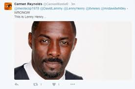 Ainsley Harriott Memes - itv news report on lenny henry being knighted uses ainsley