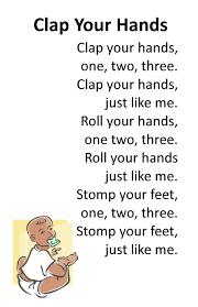 thanksgiving rhyme itty bitty rhyme clap your hands itty bitty u0026 preschool
