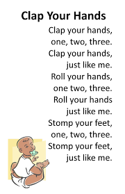 preschool thanksgiving song itty bitty rhyme clap your hands itty bitty u0026 preschool