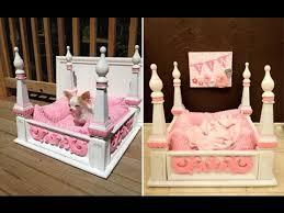end table dog bed diy diy dog bed inspirational diy ideas for pet beds youtube