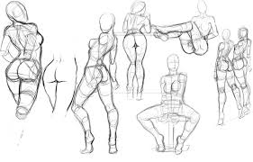 Female Body Anatomy Drawing Some Sketches Of Random Girls I Just Found Several Pictures Of