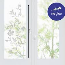 stickers pour fenetre cuisine stickers fenetre fleurs grises stickers vitres décoration